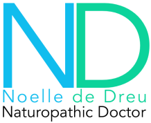 Noelle de Dreu, Naturopathic Doctor.